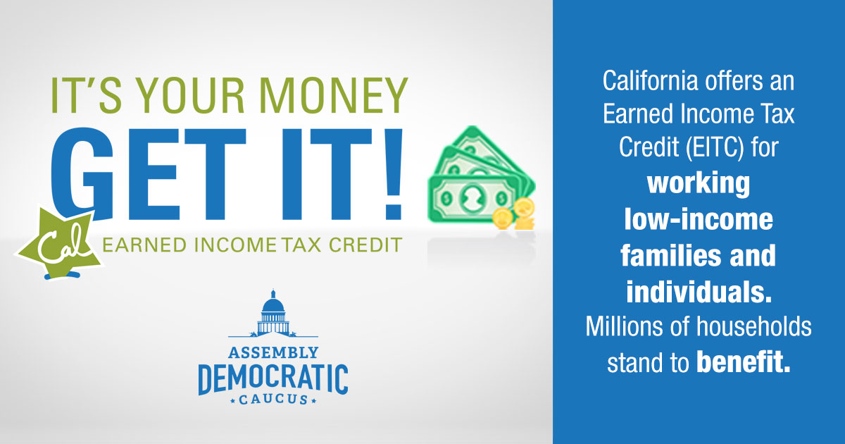 It's your money Get it! EITC Earned Income Tax Credit