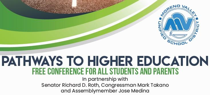 Moreno Valley Unified School District Pathways To Higher Education