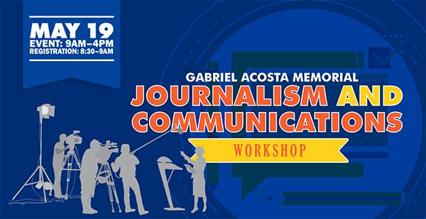 Gabriel Acosta Journalism and Communications Workshop