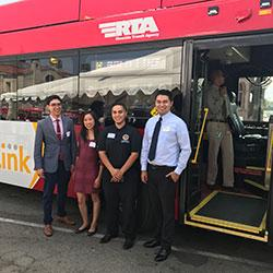 RTA Rapid Link Gold Line Launch