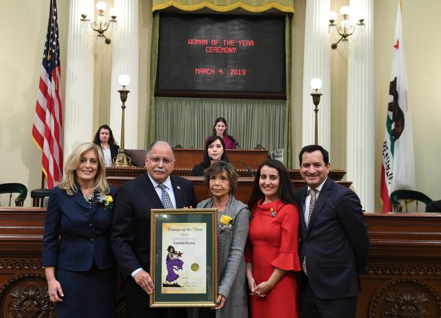 Assemblymember Medina Woman of the Year
